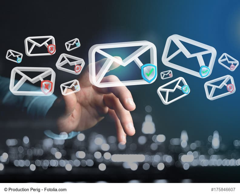 spam courrier électronique maison lettres hébergement web