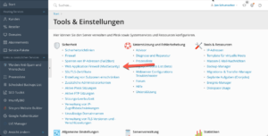 plesk modsecurity enleitung